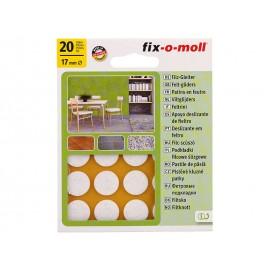 Самозалепващи плъзгачи за крака на мебели Fix-o-moll
