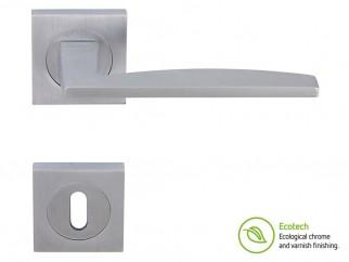 Дръжки за интериорни врати Forme Fashion Modena - Сатен Хром, За обикновен ключ