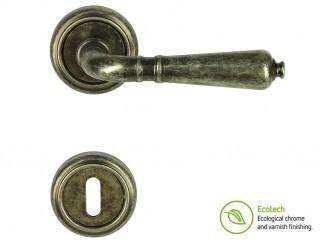 Дръжки за интериорни врати Forme Vintage Antik - Антично сребро, За обикновен ключ