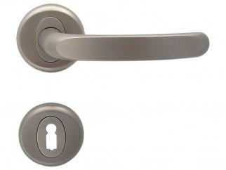 Дръжки за интериорни врати Регулус - Никел мат, За обикновен ключ