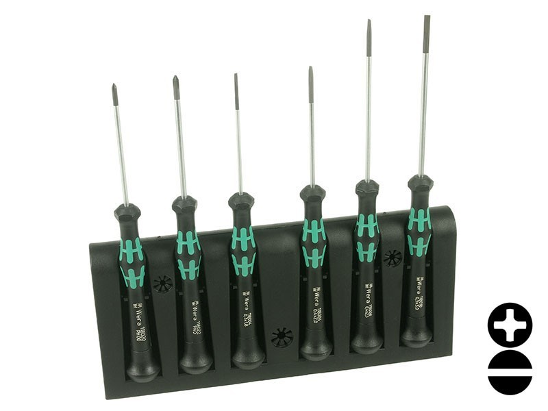 wera kraftform micro 2035 6 screwdriver set instruments buy. Black Bedroom Furniture Sets. Home Design Ideas